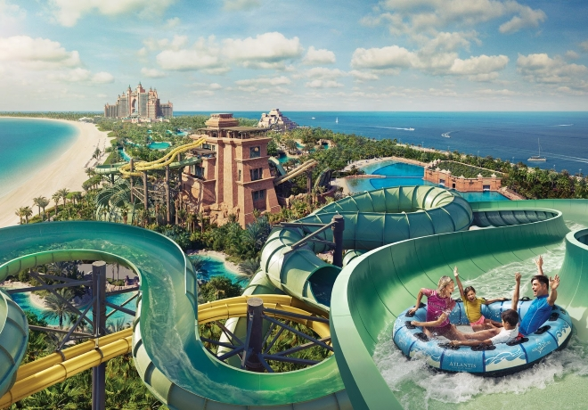 Atlantis The Palm - Aquaventure - dubaj.sk