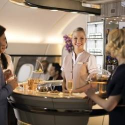 Emirates A380: Nový interér pre salónik v Business a First Class