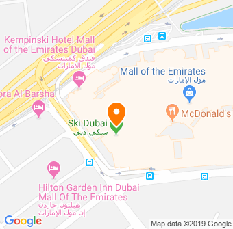 Ski Dubai Map