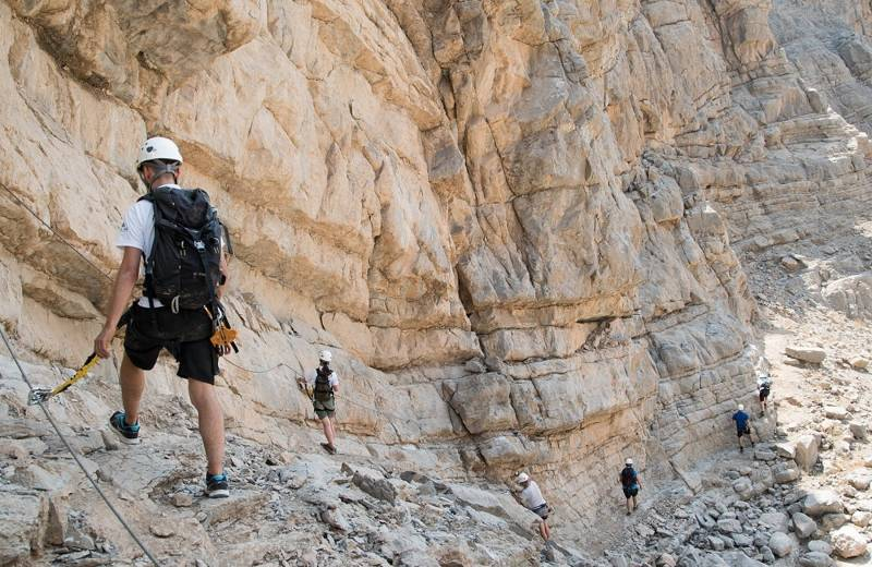 Jebel Jais Via Ferrata