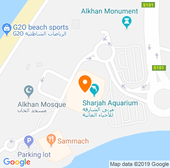 Sharjah Maritime Museum Map