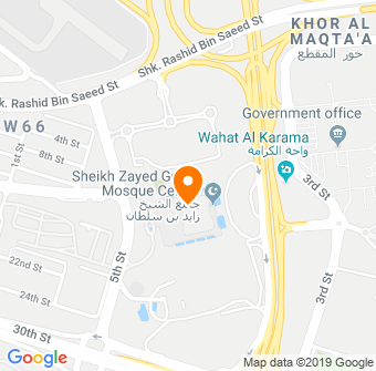 Sheikh Zayed Grand Mosque Map