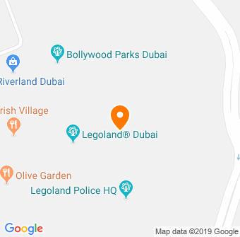 Legoland Dubai Map